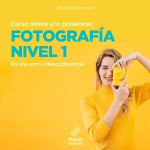 Curso de Fotografía Nivel 1 Online